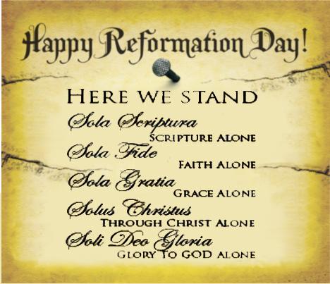 reformation day solas