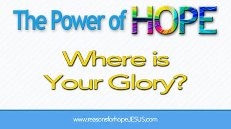 where-is-your-glory