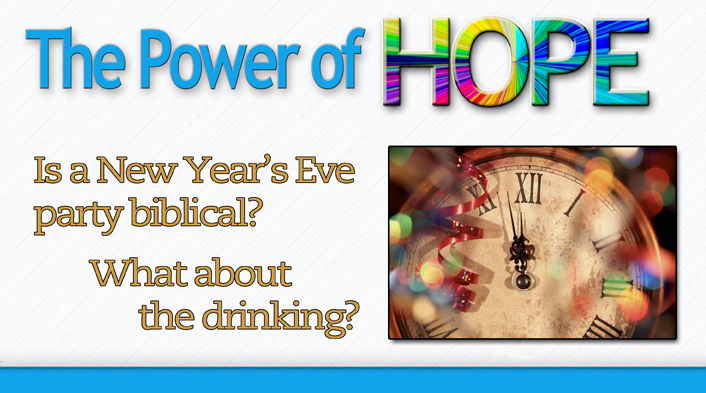 Is a New Year\'s Eve party biblical? What about the drinking?