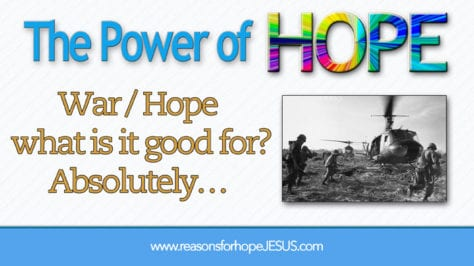 war-hope-good-for