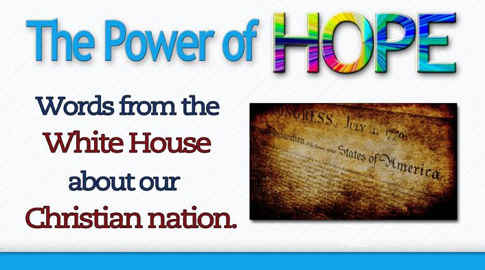 words white house Christian Nation