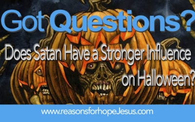 Does Satan Have a Stronger Influence on Halloween?