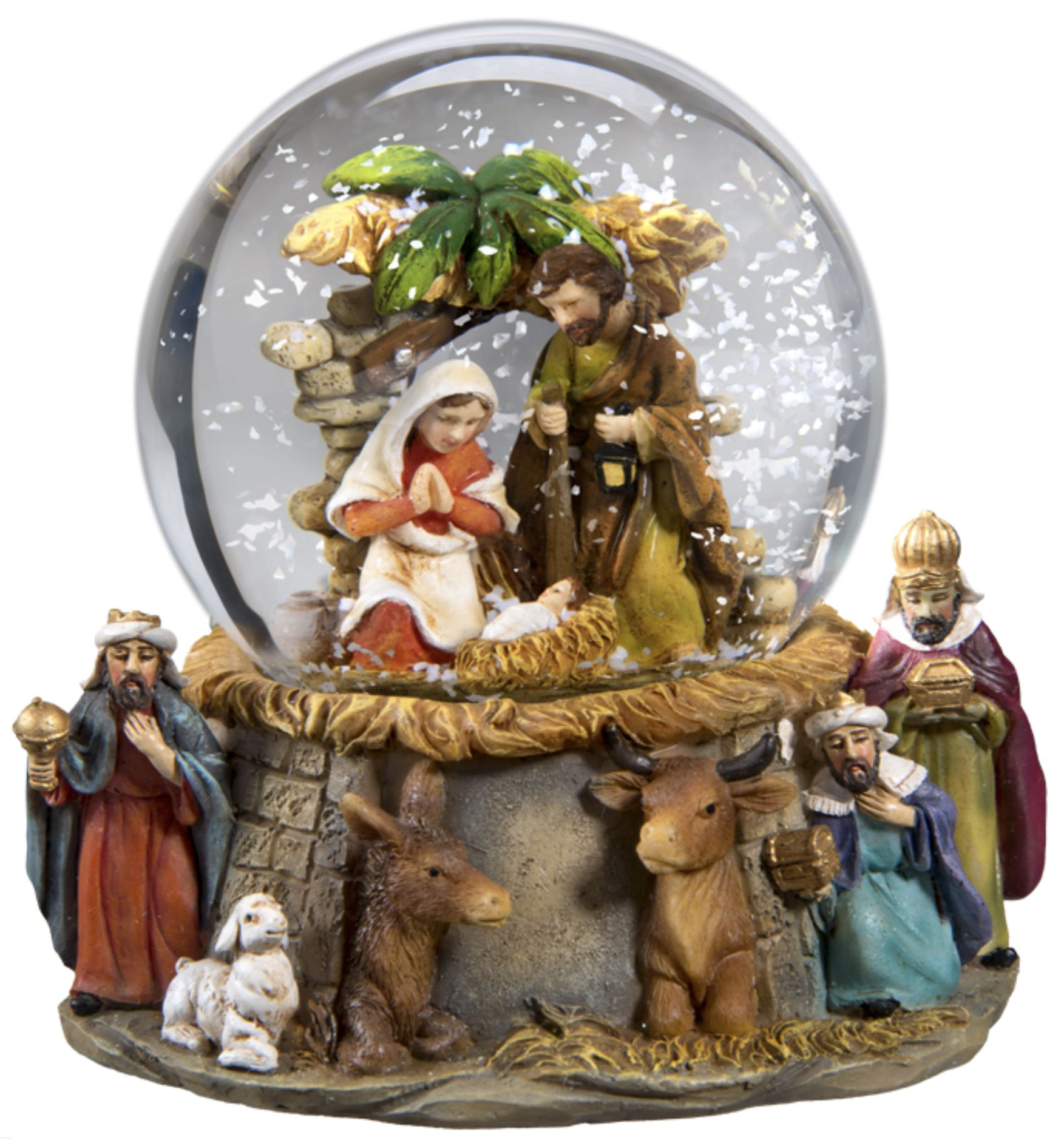 Nativity-Snow-Globe