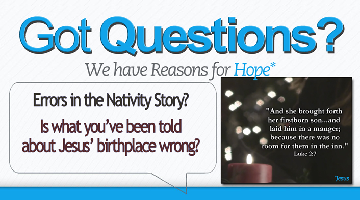 Errors-in the Nativity Story