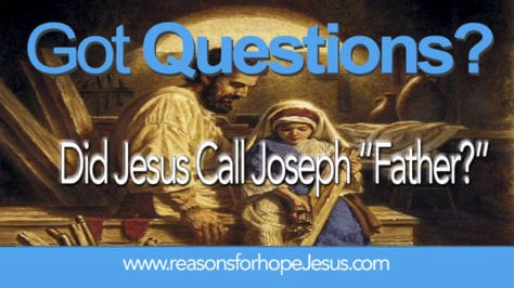 was jesus a father