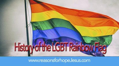 history LGBT flag
