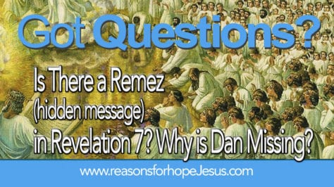 Revelation 7 Dan missing