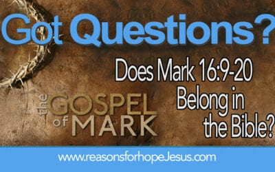Does Mark 16:9-20 Belong in the Bible?