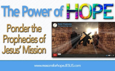 Ponder the Prophecies of Jesus' Mission