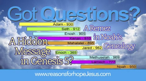 Hidden Message Remez Genesis 5