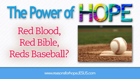 Red Blood, Bible, Reds Baseball