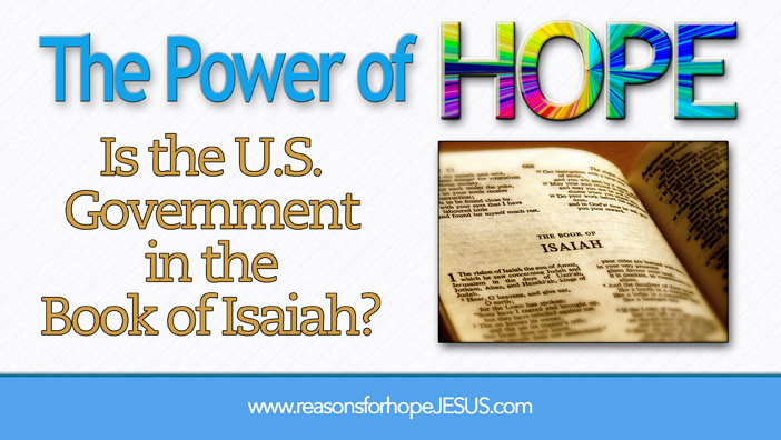 Is the U.S. Government in the Book of Isaiah?