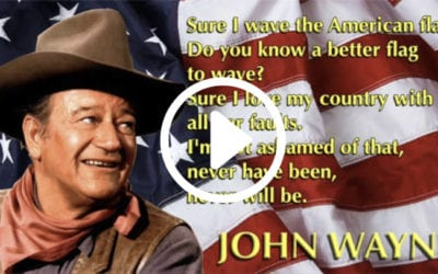 24 Reasons Why I Love America, by John Wayne