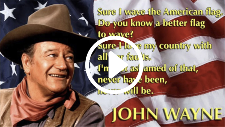 24 Reasons Why I Love America, by John Wayne