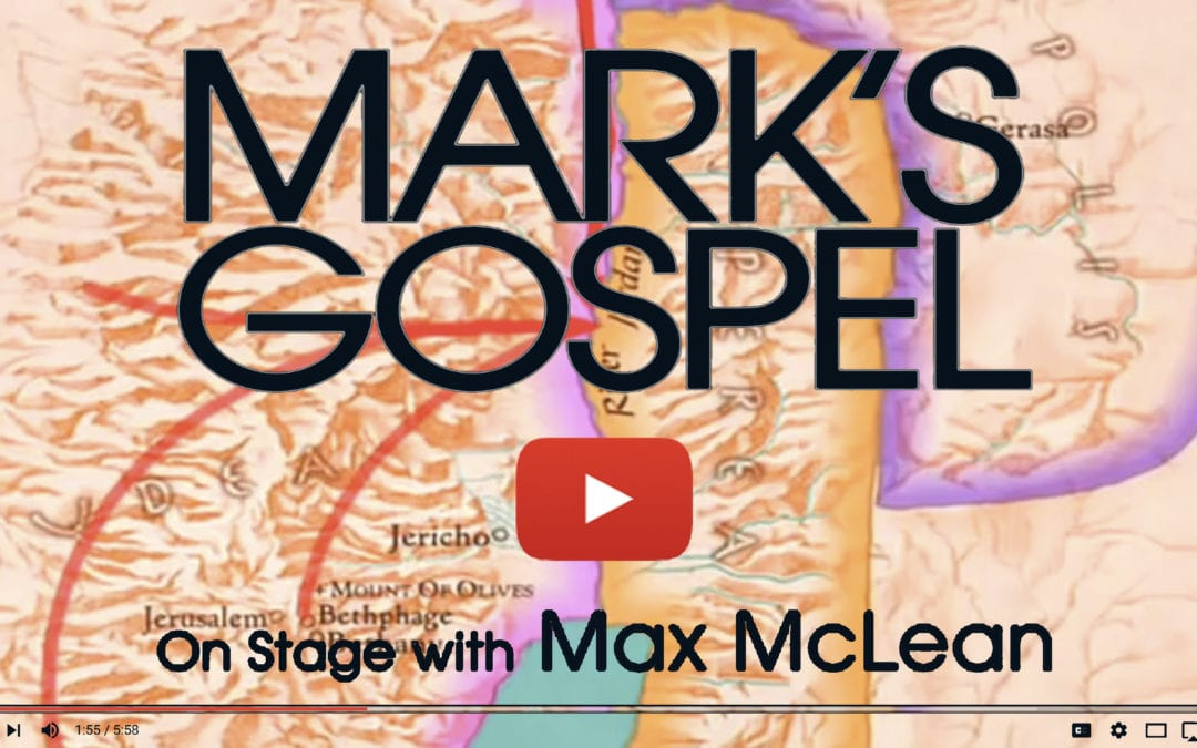 Mark Chapters 1-16 Come Alive with Actor Max McLean