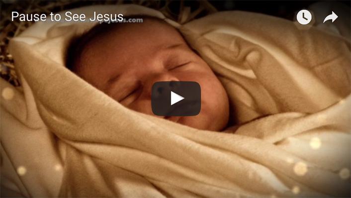 Pause to See Jesus
