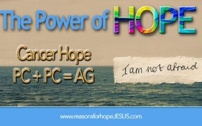 Cancer Hope: I Am Not Afraid