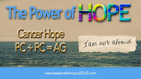Cancer Hope: PC + PC = AG