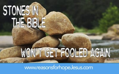 Won't Get Fooled Again-Stones in the Bible
