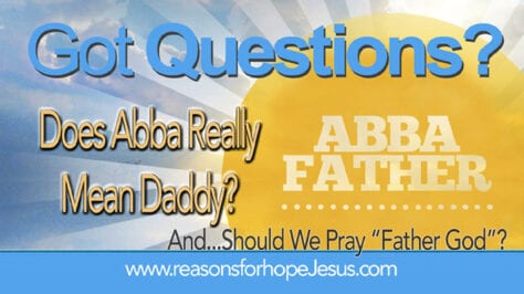 Abba Daddy - Father God