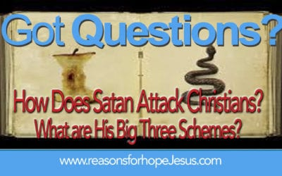 How Does Satan Attack Christians? What are His Big Three Schemes?