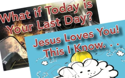 What if Today is Your Last Day?  Jesus Loves You!