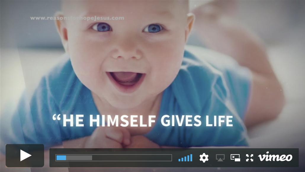 God's Masterpiece (Pro-life video)