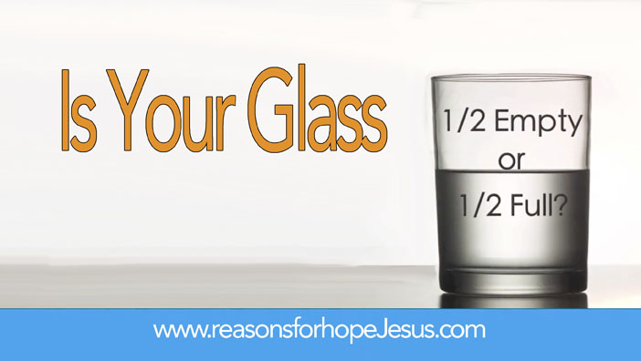 Is Your Thanksgiving Glass ½ Empty or ½ Full?