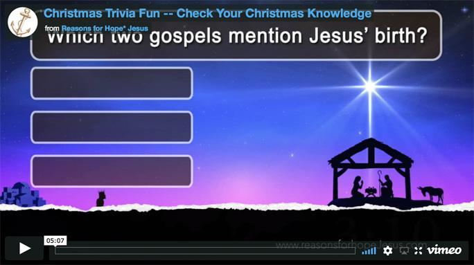 Christmas Trivia Fun