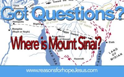 Where Is Mount Sinai?