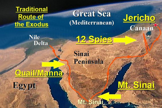 Where Is Mount Sinai? » Reasons for Hope* Jesus
