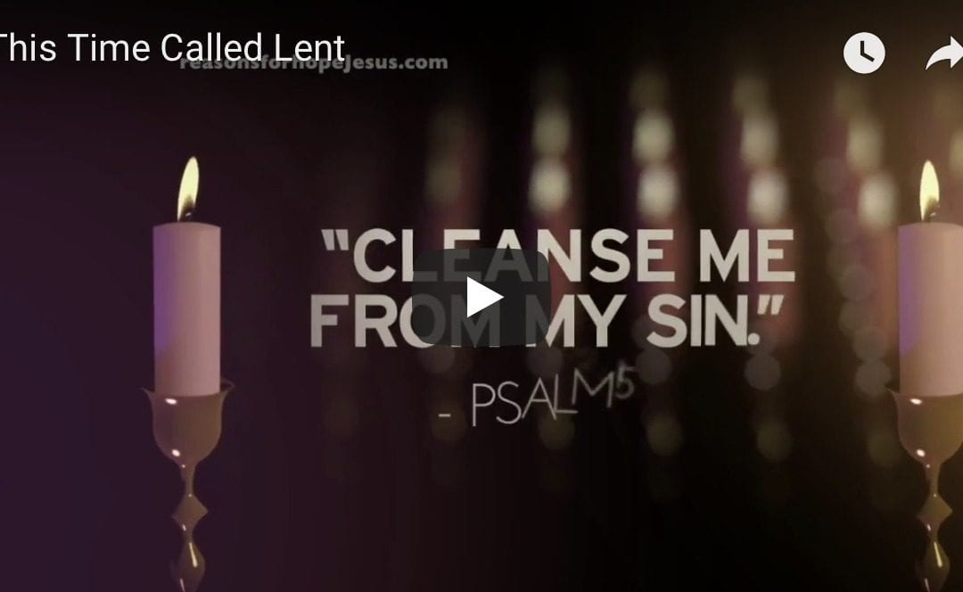 This Time Called Lent