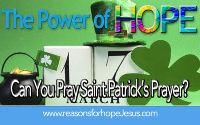 Can You Pray Saint Patrick's Prayer?