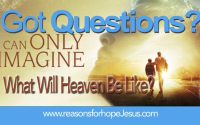 What Will Heaven Be Like?  And, What's Missing in Heaven?