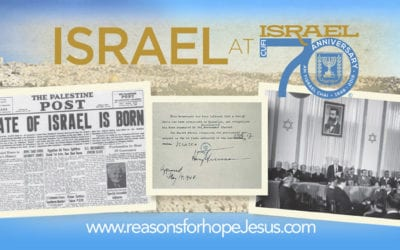 Israel Celebrates 70 Years As A Nation & the Significance for Christians