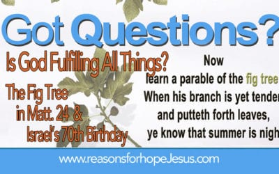Is God Fulfilling All Things? The Parable of the Fig Tree (Matt 24) and Israel's 70th Birthday