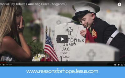 Memorial Day Bagpipes Tribute: Amazing Grace