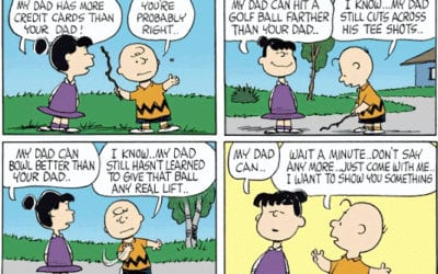 Charlie Brown's Wisdom for Fathers