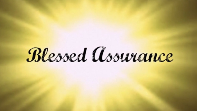 Blessed Assurance by Fanny Crosby – Video