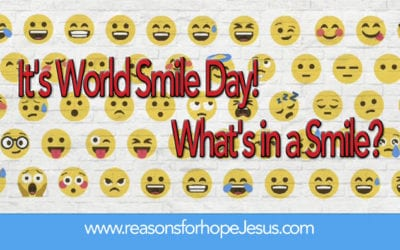 It's World Smile Day!  What's in a Smile?
