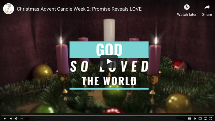 2. Advent Candle of Love