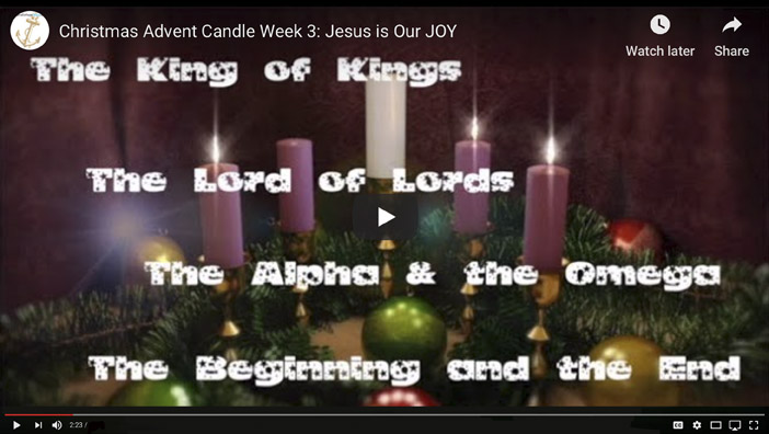 3. Advent Candle of Joy