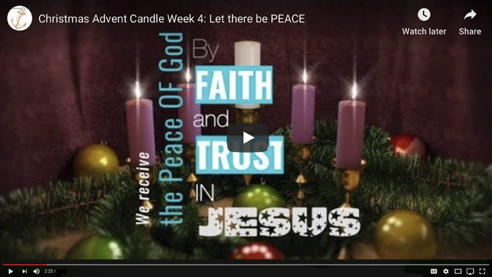 4. Advent Candle of Peace