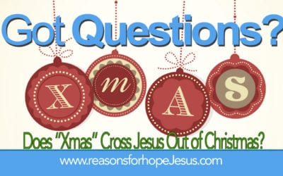 "Does ""Xmas"" Cross Jesus Out of Christmas?"