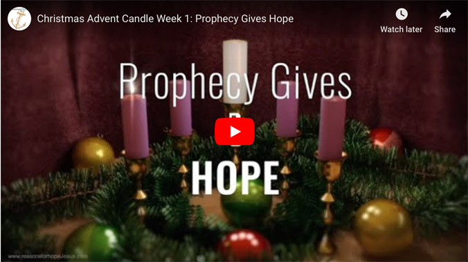1. Advent Candle of Hope