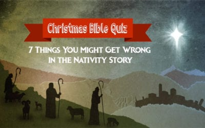 Do You Get These 7 Things Right or Wrong About the Nativity Story?