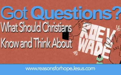 What Should Christians Know and Think About Roe v. Wade