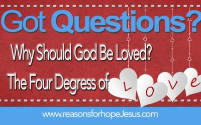 Why Should God be Loved? Four Degrees of Love
