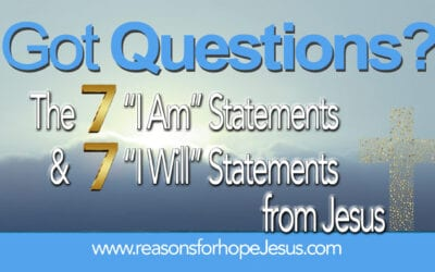 "What are the 7 ""I Am"" Statements and 7 ""I Will"" Statements from Jesus?"