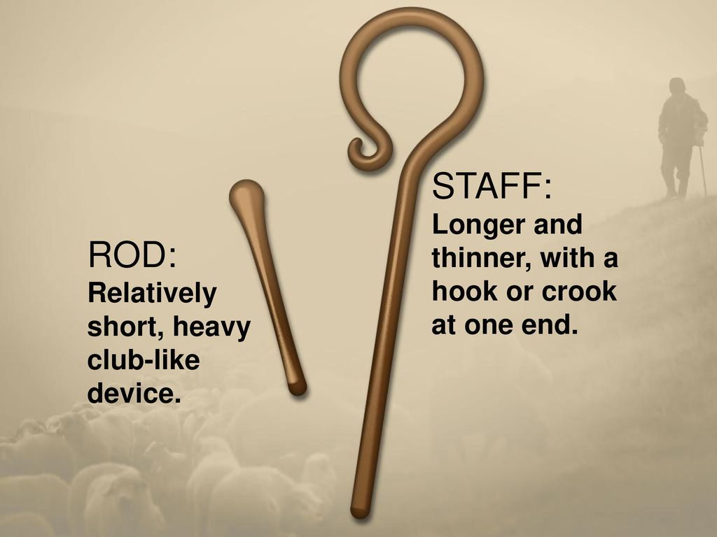 Shepherd's Rod and Staff